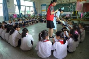 The New Role of Nurse: Guardian Angels on Campus, China