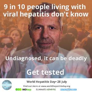 World Hepatitis Day: Nurse-led hepatitis C clinic, Melbourne, Australia